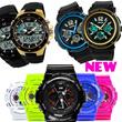 NEW Fashion SKMEI Men Sports Watches Waterproof Vogue Digital Watch Military Multifunctional Mens Wristwatches reloj