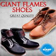 ★ GIANT FLAMES SHOES ★ Sepatu Boots and Wallabee Shoes  for HIM ★ 24 Styles ★ LOCAL BRAND ★ Great Quality ★