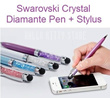 2in1 Swarovski Crystal Bling Blink Diamond Diamante Pen Touch Screen Stylus FREE DELIVERY ON 2nd – 10th UNIT. HOT SELLING SELLER GIFT