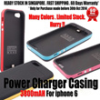 $35.90 *** Emergency Battery Casing iphone6/ 6plus | Power Bank | Battery| phone casing/ mophie juice /| 3200mAH | 3500mAH | 3800mAH | 4800mAH | Slim | Li-polymer battery|