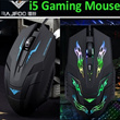 Latest New Model RAJFOO I5 2400DPI 1600DPI Upgrade 7D Optical Usb Molten Gaming Mouse Mice Desktop Laptop PC Computer WOW CS CF FPS MMO LOL DOTA
