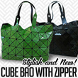 [RAMADHAN EDITION]CUBE BAO ZIPPER / TAS WANITA*ROCK SERIES*GREEN/BEIGE/BLACK/WHITE/RED**STYLISH AND NEW