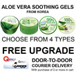 Top Selling Aloe Vera Soothing Gels Nature Republic 92% 3W Clinic 100% Organia 90% NaturEssentials 99%