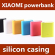 Xiaomi Powerbank 10400mAh and 5200mAh Silicon Casing protective cover 6 colors
