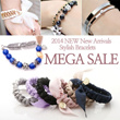 2014 NewARRIVAL★GIFT EVENT★UNISEX/Men/Swarovski Crystal/Jelly/Bracelet/Gemstone/Metal/Korea/HairBand/leather/Vogue