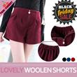 ★BLACKFRIDAY LIMITED OFFER★New Update★ KOREA HOTTEST ITEM/lovely woolen shorts M~XL/KOREA style/short pants/women fashion women clothing
