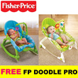 [FREE Toy]Fisher-Price Newborn to Toddler Baby Rocker♥FREE Doodle Pro♥Seahorse♥Diaper Bag Mummy♥Pooh Stacker Toy
