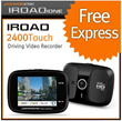 [IROAD] 2400Touch Car Camera 2.4-inch Wide LCD 1-Channel HD Driving Video Recorder/blackvue