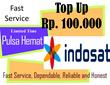 [PULSA HEMAT] Rp. 100.000 Isi Ulang Pulsa Indosat untuk Mentari IM3 dan Matrix Auto.