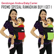 Soft structured baby carrier baby carrier Andrea_FREE SHIPPING WHOLE INDONESIA_