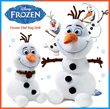 "[HD][KT] Premium Brand Walt Disney Officially Licensed FROZEN Movie Character Elsa Anna Snowman ★OLAF Doll Figure Soft Plush Stuffed Toy Well-made Doll Gift / New with Tag / Small(10"") Large(14"")"