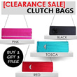 [CLEARANCE SALE!!] *BUY 1 GET FREE 1* TAS PESTA/CLUTCH BAGS MANY TYPE /COLORS [FREE SHIPPING FOR JABODETABEK]