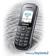 Samsung Keystone 2 - GT-E1205|Convenient and Easy to Use