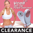 ※CLEAN STOCK※Authorized Supplier※Vcell Slim Clip Power Exerciser Diet / Shell Power / Body Slimmer
