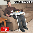 [TABLE MATE]built in/ Table/As seen on TV/potable/tray/table with laptop/multi-purpose/foldable/ fold up