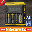 2014 New Version Nitecore D4 Digicharger LCD Display Battery Charger 100% Original Nitecore I2 I4 Controlled Intelligent Charger Battery AAA 26650 22650 18650 AA 17670 18490 Adapter