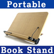 New Portable Bible Reading Book stand Holder Bookstand