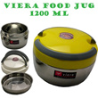 VIERA FOOD JUG/LUNCH BOX/BOX PENYIMPAN MAKANAN *STAINLESS STEEL* VOLUME 1200 ML