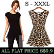 ★FLAT PRICE $9.9 ONLY!★22/APR★Lovely Dress T shirt Leggings Pants Jean Stockings Skirts Tops