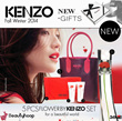 KENZO Gift Set! Flower by Kenzo: 3pcs/5pcs EDT 50ml + Creamy Body Milk 50ml + Mlik Shower Cream 50ml ~ Comes with a Designer Bag!