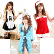 Sexy dress lace night babydoll Lingerie Intimate Sleepwear Nightgown Pajamas Cosplay OVER 240 TYPE