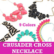 Kalung Crusader Cross**9_Models**Fashionable and Chic
