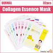 DERMAL Collagen Essence Mask 32pcs Set (Best Price Ever! $0.37 per Sheet)