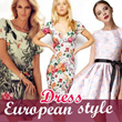 2015 Europe style dress/casual dress/summer dress/spring dress
