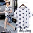 [buy 2 free shipping]2014 NEWEST European Style Lady Fashion Collection/20 Designs/Chiffon Tops/T-shirts/Casual Dress/Blouse/Stars Similar Dresses/SIZE S-XXXL/UNIQUE