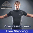 [black rider]Compression Wear- Functional Base Layer-UnderLayer-UnderWear-Golf Fitness Bike jersey