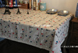 zakka fashion table cloth desk cloth chair cloth tablecloth Tower flower 3001 desk cloth