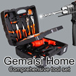 ▶Gemaisi Home Comprehensive Tool Set Tool box◀ Deluxe Tool Kit Set For Home DIY /  Total tool kit solution / High Quality tools