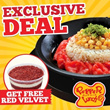 [PEPPER LUNCH] FREE Red Velvet Dessert - Limited Quantity