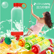 Citrus Zinger Lemon Bottle New Slimming Weight Loss Healthly Water Bottle Fruits Vitality Manual Juicer Cup. 0% BPA FREE! [Local Seller with Fast Delivery]