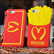 New McDonalds Phone Casing French Fries Chips SpongeBob SquarePants Children Set M Shoulder Bag Chain Soft Silicon Case for iPhone4s iPhone5s Samsung Galaxy S3 S4 Note2 Note3 HONGMI REDMI Redrice