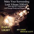 [LimitedQTY]Ideal Christmas Gift Celebration Bedroom/Home Decor/House Warming/Party/Fairy light/Design/DIY/Handmade/Decoration/Event/Lighting/Birthday/FairyLights/string lights/Lantern lamp/feather