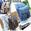 KULIT ASLI - BOURZU BACKPACK - Comfortable Laptop Bag! FREE ONGKIR JABODETABEK!