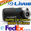 [SUEPR Sale][LIVUE] LB100 HD 8GB LB300L-2CH GPS Car Camera Blackbox Video Registrar Vehicle 1CH Recorder 2 Mega Pixel black