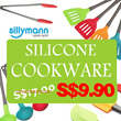 [FREE SHIPPING][TODAY DEAL]SILICONE COOKWARE ★CHRISTMAS GIFT★/spatula/Cook/Tongs/ladle/pasta/cup/baking/Kitchen tools/tie/etc