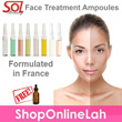 *Promotion Limited to 50 qty!* Salon Grade Beauty Ampoules - SOL Beauty Treatment Ampoules Hydrating / Whitening / Oxygen / Collagen / Azulene / Vitamin C  [SCMK]