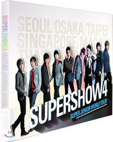 [GIFT ] Super Junior - SuperShow 4 Concert Photobook (Poster + 191 Photobook + 10 Photocard)
