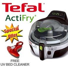 ★★★FREE UV BED CLEANER★★★ [Tefal] Actifry Family Size Air Fryer!- NEW INNOVATION FOR HEALTHY LIVING