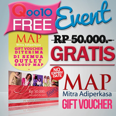 [Superday Event] Free MAP Voucher Rp50000! GRAB NOW!