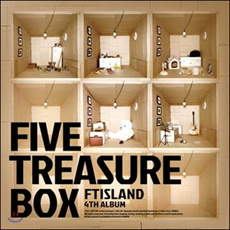 [CD] FT Island 4th Album - Five Treasure Box