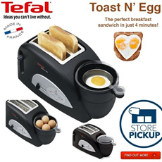 Tefal Toast and egg. best toaster ever!