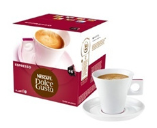 Nescafe capsules for Dolce Gusto range of machines!