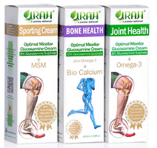 Urah Glucosamine Transdermal Cream for max absorption! Repairs  Relieves pain. For all joints! 50ml.