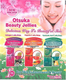 Otsuka Japan Hottest COLLAGEN JELLY. For maximum absorption! No cumbersome bottles! Authorised local
