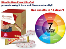 Kinohimitsu Weight loss Slimming KilosCut Detox and Bust up!