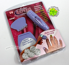 Salon Express Nail Art Stamping Kit (As Seen On TV)